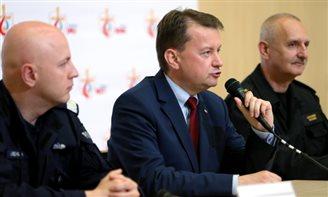 Глава МВД: За последние три дня преступность в Кракове сократилась в 10 раз