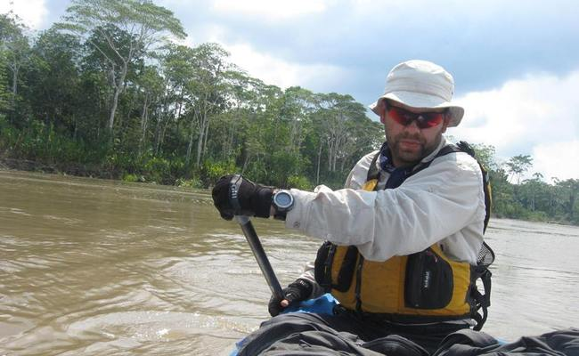 Marcin Gienieczko. Photo: Facebook/SOLO Amazon Expedition