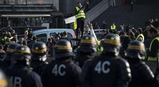 Francja zablokowana przez demonstrantów