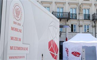 На запад Польши приехала мультимедийная выставка о 100-летии независимости