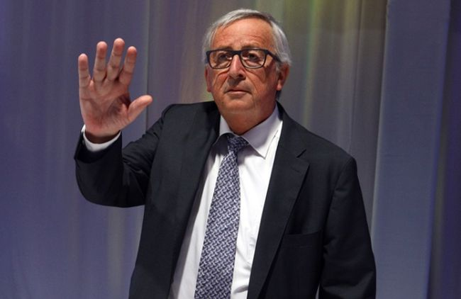 Председатель Европейской комиссии Жан-Клод Юнкер.