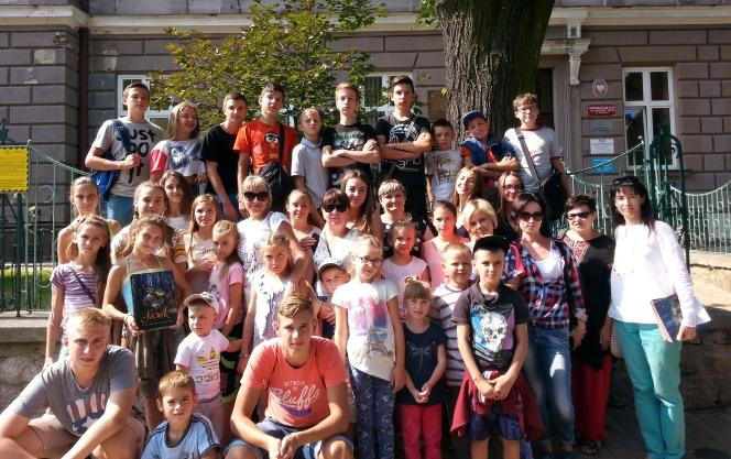 Відпочинок дітей ветеранів АТО у Польщі (Фото: Олена та Олег Габрієль)