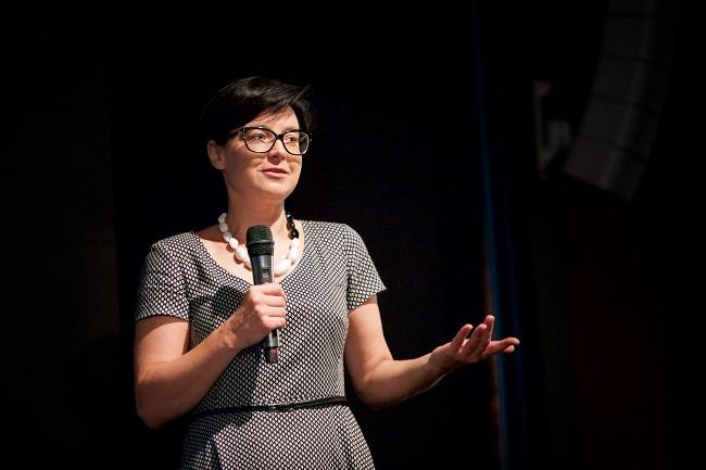 Anna Sienkiewicz-Rogowska. Photo: Facebook.com/Filmoteka Szkolna/Paweł Zakrzewski.