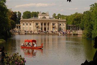 Królewskie Łazienki - jeden z najpiękniejszych parków w Europie