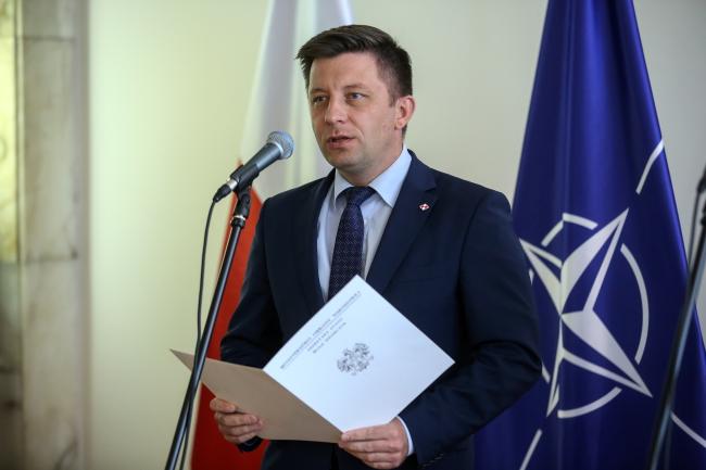 Польський віце-міністр національної оборони Міхал Дворчик