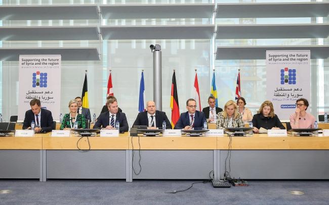 Конференція ЄС та ООН присвячена Сирії, Брюссель, 25 квітня 2018 року