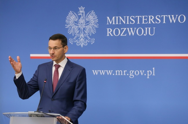Deputy PM and Finance and Development Minister Mateusz Morawiecki. Photo: PAP/Paweł Supernak