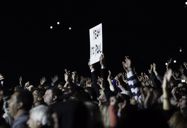 Fans at a Paul McCartney concert. Photo: Jimmy Baikovicius/Wikimedia Commons (CC BY-SA 2.0)