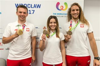 Poland adds two bronze medals to World Games tally