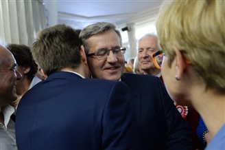 Komorowski to return to Civic Platform