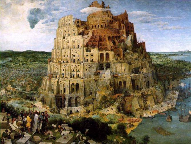 Пітер Бройґель старший, «Вавилонська вежа»