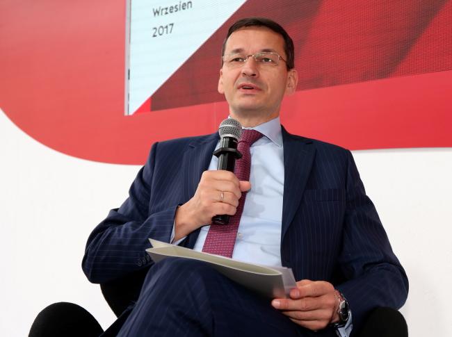 Mateusz Morawiecki. Photo: PAP/Grzegorz Momot