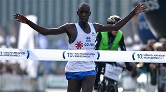 Kenyan Limo Kiprop wins Warsaw half-marathon