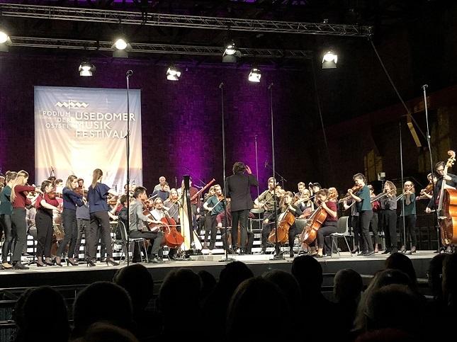 Baltic Sea Philharmonic beim Eröffnugskonzert des 25. Usedomer Musikfestivals, fot. © Arkadiusz Łuba