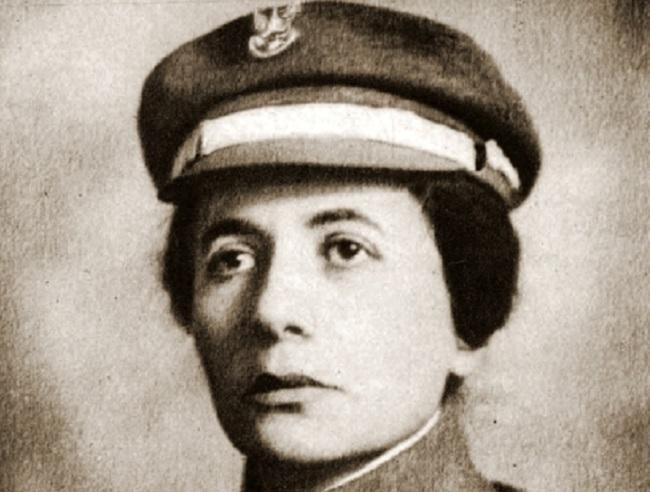 Александра Загурская, организаторка женской разведслужбы I-й бригады Польских легионов.