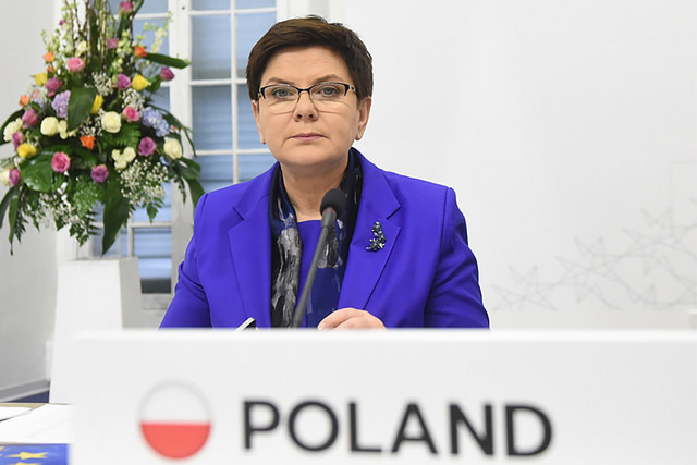 PM Beata Szydło. Source: www.flickr.com/photos/premierrp
