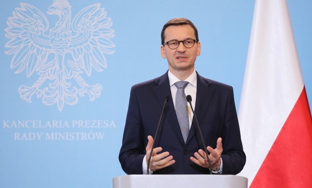 Премьер-министр Польши Матеуш Моравецкий