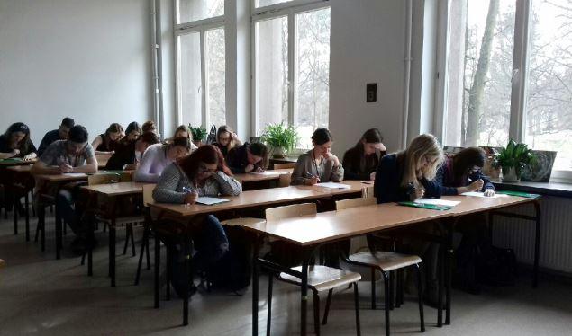 У Кракові студенти змагалися з українською орфографією