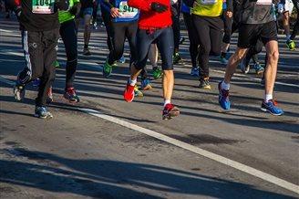 Runners limber up for Orlen Warsaw Marathon