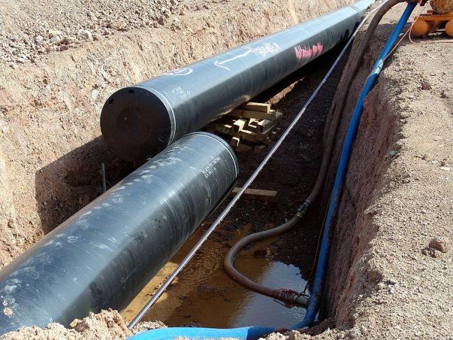 Иллюстративное фото (пример труб для газопровода).
