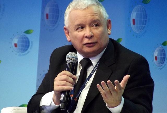 Jarosław Kaczyński. Photo: Flickr.com/Piotr Drabik