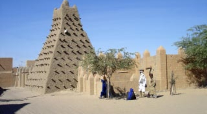 Meczet Sankore w Timbuktu