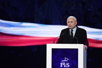 Polish ruling party well ahead: poll