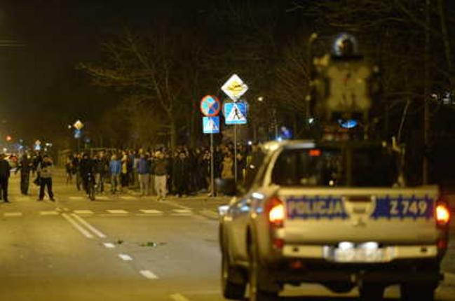 Legionowo riot. Photo: PAP/Jacek Turczyk
