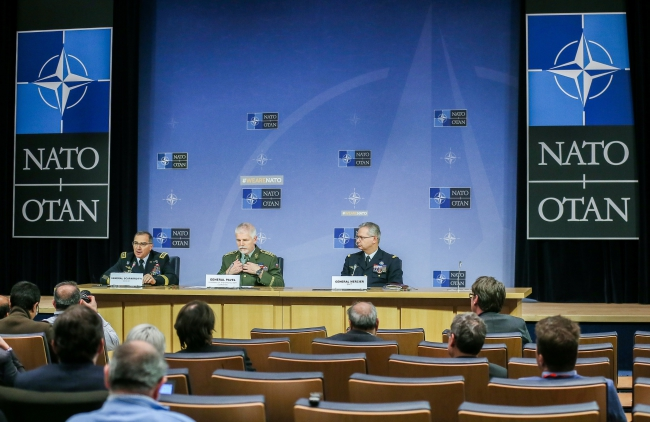 Засідання Військового комітету НАТО, Брюссель, 17 січня 2018 року