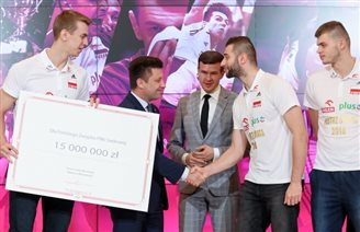 Millions in extra gov't funds for volleyball in Poland