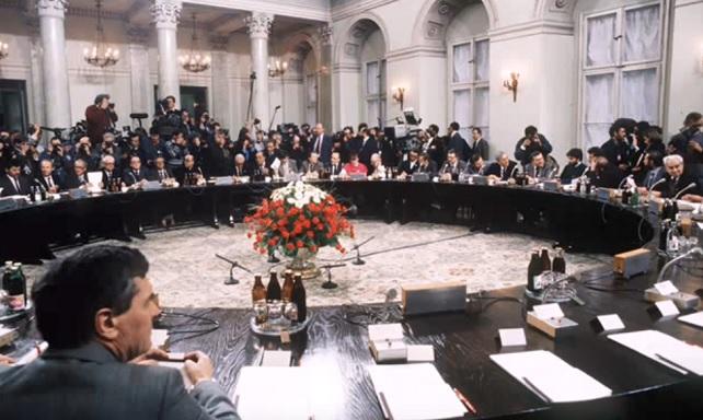 Заседание Круглого Стола, Варшава 1989 год