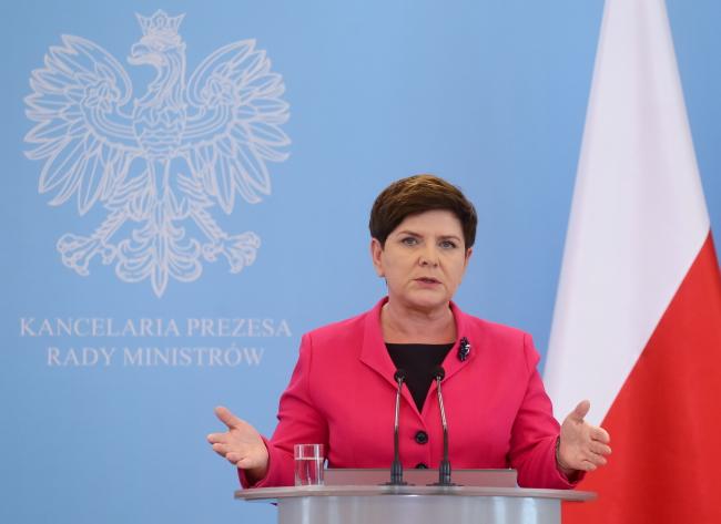 Polish PM Beata Szydło. Photo: PAP/Paweł Supernak