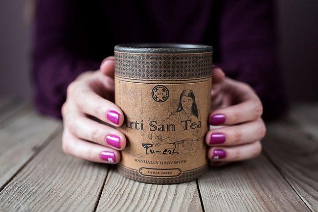 В этой коробочке скрыт волшебный аромат листьев китайского чая...