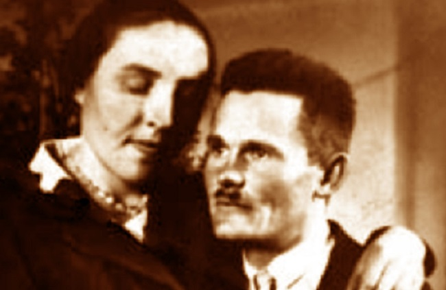 Józef Ulma (right) and his wife Wiktoria. Photo: Wikimedia Commons/Public Domain