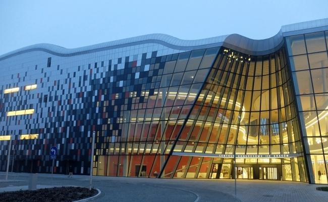 The ICE Kraków Congress Centre. Photo: wikimedia commons/luxetowiec