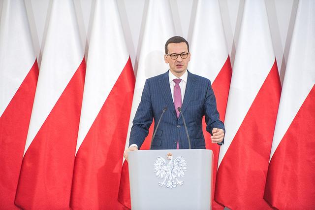 Mateusz Morawiecki. Photo: W. Kompała/Kancelaria Premiera.