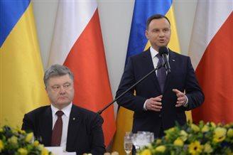 Poroshenko in Warsaw