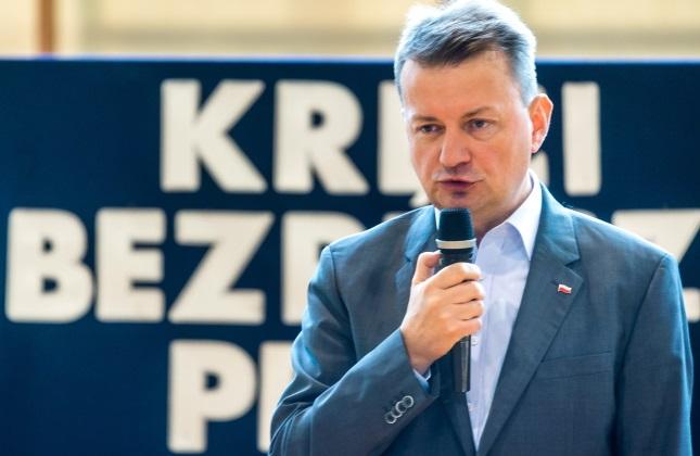 Mariusz Błaszczak. Photo: PAP/Tytus Żmijewski