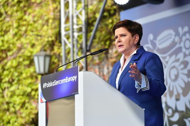 Вице-премьер Польши Беата Шидло