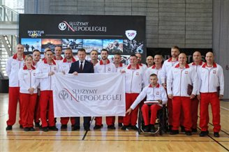 Polish war vets head off for Invictus Games