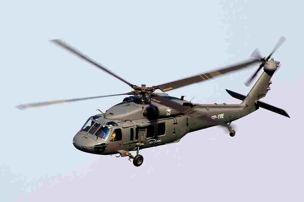 Sikorsky's Black Hawk. Photo: Wikimedia Commons