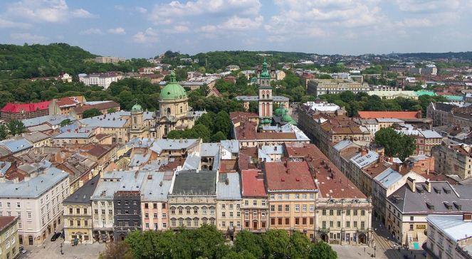 Погляд на місто з вежі ратуші