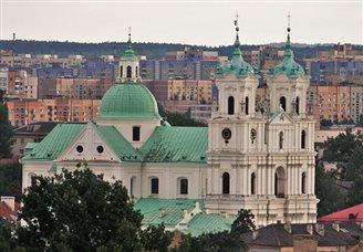 Mińsk: polska pomoc dla inwestycji w parafii św. Rocha