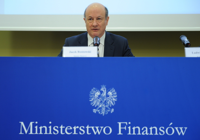 Former Finance Minister Jacek Rostowski. Photo: PAP/Jacek Turczyk