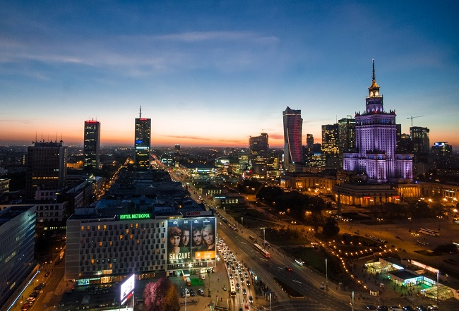 Warsaw. Photo: Skitterphoto/pexels.com/CC0 License