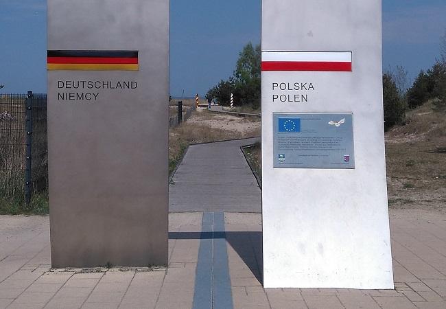 Граница ФРГ и Польши