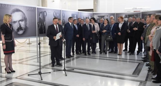 Wystawa w Sejmie RP poświęcona Józefowi Piłsudskiemu