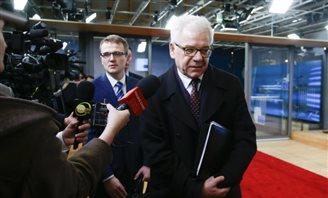 Кіраўнік МЗС Польшчы й віцэ-старшыня ЭК задаволеныя перамовамі