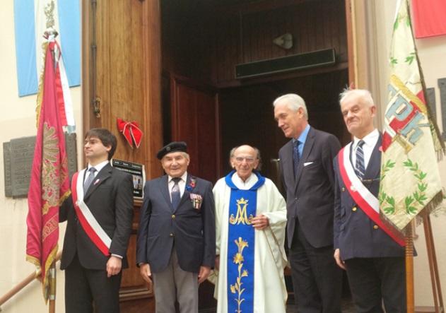 Uroczystości 73. rocznicy bitwy pod Monte Cassino w Buenos Aires