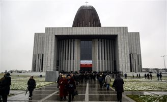 Warsaw's Temple of Divine Providence opens